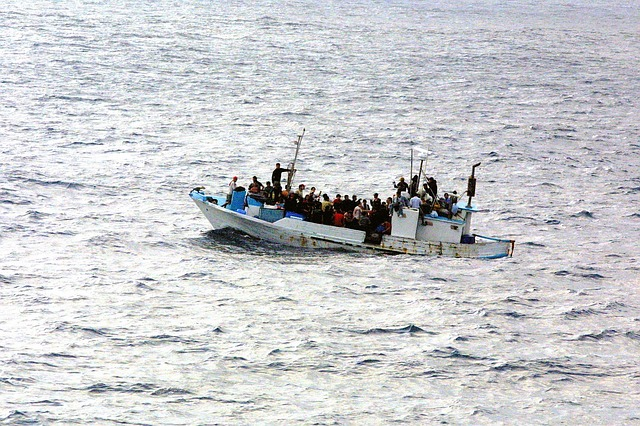 Flüchtlinge auf dem Meer